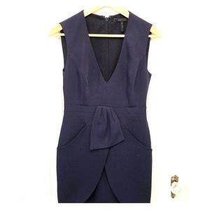 BCBGMAXAZRIA Dark Navy dress